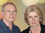 Brand-new millionaires: Maureen and Stephen Hinckley won a $61,641,010 jackpot, but they look like they are still in shock