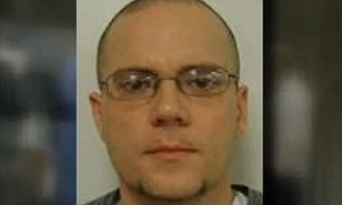 Escaped: Jason Mark Carter (pictured) has escaped from an institution in Northeast Richland County, the South Carolina Department of Mental Health says