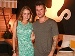 Ryan Phillippe looks causal while girlfriend Paulina Slagter wows in patterned dress for a New Year's Day dinner