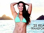 If I can do it  anyone can! In a bid to offer women '12 months of inspiration' the impeccably toned Maria Kang, better known to her critics and fans as 'Fit Mom', has launched a post-pregnancy swimsuit calender