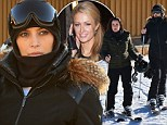 Keeping Up With The¿ Hiltons: Kim Kardashian hits the slopes with frenemy Paris¿ aunt Kyle Richards