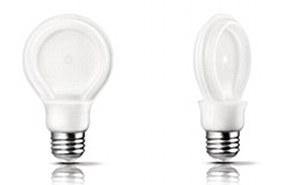 The SlimStyle bulb lasts for a minimum of 10,000 hours, while a halogen light bulb lasts on average 1,000 hours. The LED light bulb go on sale this month in the U.S. for less than $10 (£6) and come over to the UK if sales are successful