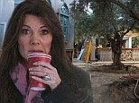 It's looking tree-mendous! Lisa Vanderpump checks out the progress of her new bar... and it's beautiful garden atrium