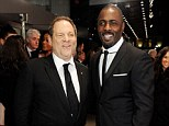 Honoured: Harvey Weinstein - seen with Idris Elba at Royal Film Performance of Mandela: Long Walk to Freedom - in London last month, was an unexpected honoree at the Capri-Hollywood film festival