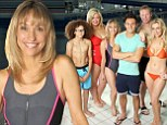 Fears: Michaela Strachan reveals that the scariest thing about appearing on Splash! was having to do a photocall in a swimsuit.