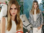 Cara Delevingne for Mulberry SS14