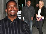 Smiling through the heartbreak! Fresh Prince Of Bel Air star Alfonso Ribiero eats out with wife as he mourns 'second father' James Avery
