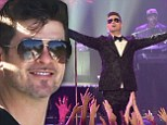 Robin Thicke 'threatened to pull out of New Year's Eve performance if he wasn't moved to a larger hotel room'
