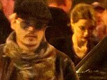 It must be serious then! Johnny Depp takes Amber Heard to dinner with his beloved mother Betty Sue