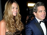 As if nothing happened: Elle Macpherson and husband Jeff Soffer attend Perez Art Museum last week in Miami