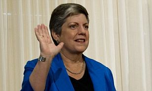 Janet Napolitano served as President Obama's Secretary of Homeland Security but is no longer in office, though that didn't stop her from weighing in on the Snowden debate