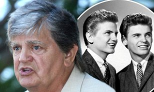 Everly Brothers singer Phil Everly dies aged 74 in Los Angeles after battle with chronic obstructive pulmonary disease