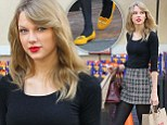 Ready for romance: Taylor Swift made sure she was all dolled up for her run to Ralphs in Hollywood, California on Friday
