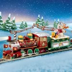 Winnie The Pooh Hundred Acre Wood Christmas Express Train Collection - Winnie the Pooh Hundred Acre Wood Christmas Express Train Set Collection Gets You on Track with Pooh and Friends! Exclusive!