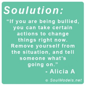 Alicia A Bullying Soulution
