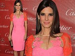 Defying Gravity! Sandra Bullock is fabulous at 49 as she showcases her figure in tight dress at film festival