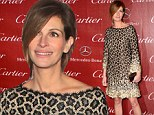 Wild at heart! Julia Roberts steals the show in leopard print dress at star studded Palm Springs International Film Festival
