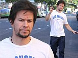 No entourage required! Scruffy Mark Wahlberg steps out solo in Beverly Hills to run errands