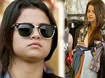 Selena Gomez shopping