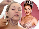 Former Miss USA Shanna Moakler undergoes liposuction on camera before showing off the results in topless shoot