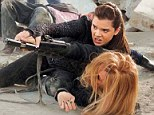 Armed and dangerous! First look at Hailee Steinfeld as a feisty teen spy in new stills for Barely Lethal