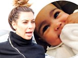 'I want to get in better shape!' Bride-to-be Kim Kardashian reveals her New Year resolution... and dishes on baby Nori's Halloween costumes