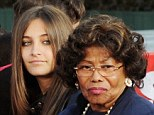 Dispute: Radar also claim that Paris is at 'loggerheads' with her Grandmother Katherine Jackson, who wants Paris to return to the boarding school