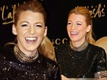 Star: Blake Lively promotes Gucci's Premiere fragrance in Dubai