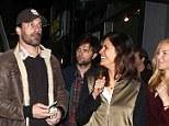 All friends together: Jon, Adam, his wife Naomi Sablan and Jennifer seemed like a close knit unit