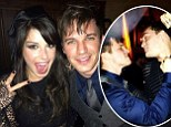 Hands off my wife! Shenae Grimes' husband playfully threatens her 90210 co-star Matt Lanter after they pose together at party