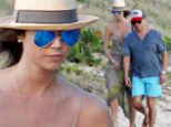 It's heating up! Stacy Keibler goes on breezy beach stroll with new boyfriend Jared Pobre in St. Bart's