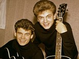 Disharmony: Don, left, and Phil Everly made music that outlasted their own period in the spotlight by decades