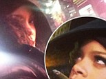 Watcha smoking? Rihanna puffs on suspicious cigarette while braving the cold in New York City
