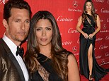 How to make an entrance: Camila Alves donned racy black gown to attend the Palm Springs International Film Festival Awards Gala on Saturday