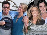 'I wanted to give Denise a stroke!!!': Charlie Sheen attempts to rile up ex-wife Richards with false claim he tied the knot with porn star Brett Rossi