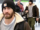 From scrawny to brawny! Bearded Jake Gyllenhaal returns to good health as he drops the gaunt look for his next big role
