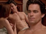 Christian Grey who? Matt Bomer proves why he was the fan favourite to play the lead in Fifty Shades Of Grey as he strips for new episode of White Collar