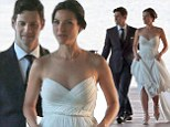 Hangover star Justin Bartha ties the knot with fitness trainer Lia Smith in intimate ceremony in Hawaii