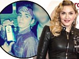 Madonna shares rather inappropriate photo of son Rocco, 13, holding liquor bottles with his young pals