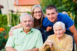 Family in Residential Care Home