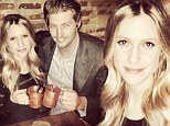 'Enjoying a mock-tail for the big 2-7!: Pregnant Kristin Cavallari beams as she enjoys non-alcoholic cocktails during birthday party with husband Jay Cutler
