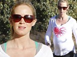 There's no stopping her! Emily Blunt shows off her blossoming baby bump during yet another energetic hike with faithful dog Finn