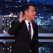 """Late night TV host Jimmy Kimmel found attempts to hype """"cold"""" temperatures in Los Angeles comical."""