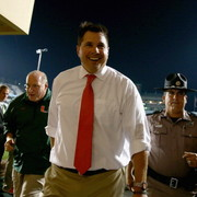 Al Golden says he's staying at Miami