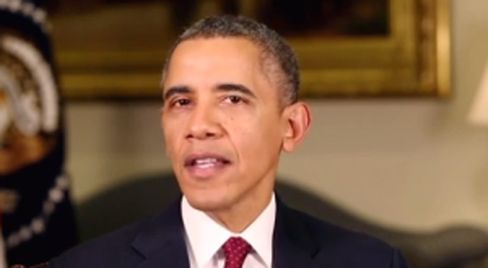 President Barack Obama focuses his first weekly address of the year on urging Congress to extend unemployment benefits, Jan. 4, 2014; 1.3 million Americas lost their benefits on Dec. 28, 2013.