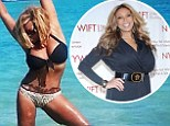 Tropical getaway: In a photo Wendy Williams posted to her Instagram and Twitter accounts on Sunday, she is standing in brilliant turquoise waters, striking a pose that shows off her flexibility and toned physique