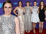 Girls night out! Lena Dunham and the stars of the HBO hit comedy put their angst on hold and show off their glamorous side for New York premiere of season three