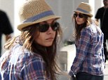 Missing your man? A glum-looking makeup-free Mila Kunis steps out without Ashton Kutcher