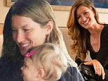 Gisele bundles up Vivian, then goes to New York