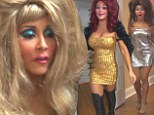 What a drag! Snooki dons huge wig and leopardskin gloves as she plays dress up with JWoww in new reality show sneak peek